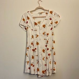 L.A. Hearts White Floral Dress
